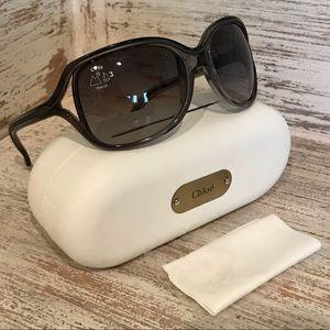🆕Authentic Chloe Grey Gradient Sunglasses